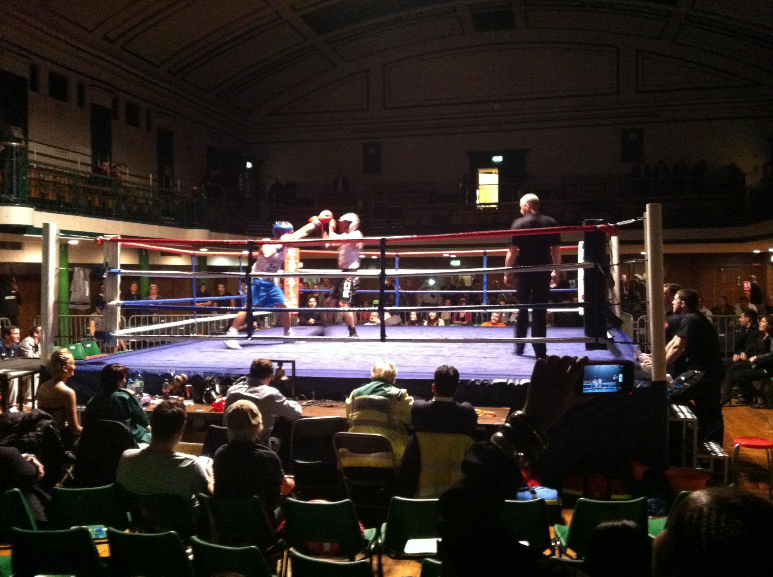 White Collar Boxing York Hall - David Johnson