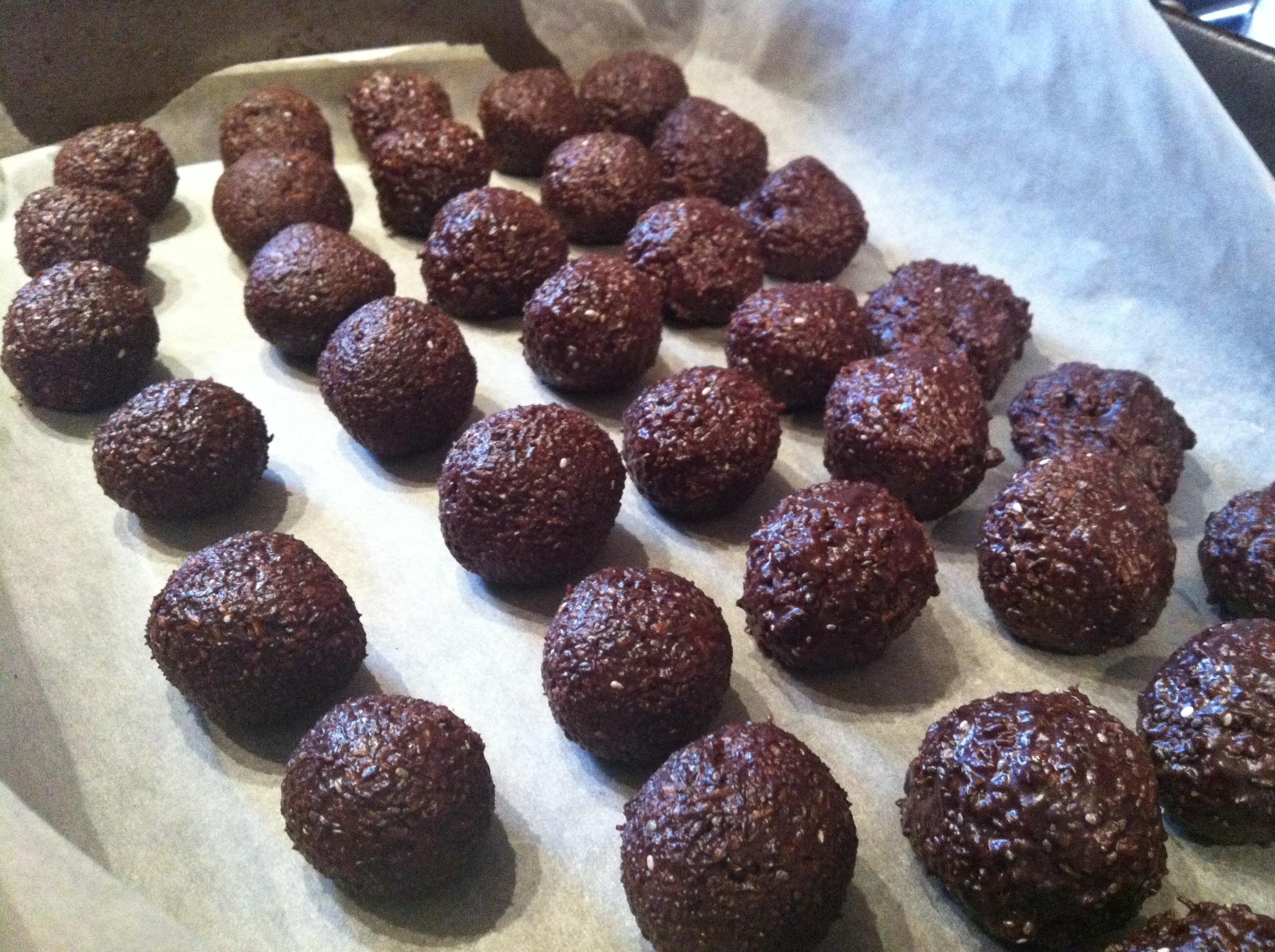 Raw Chocolate Balls Recipe