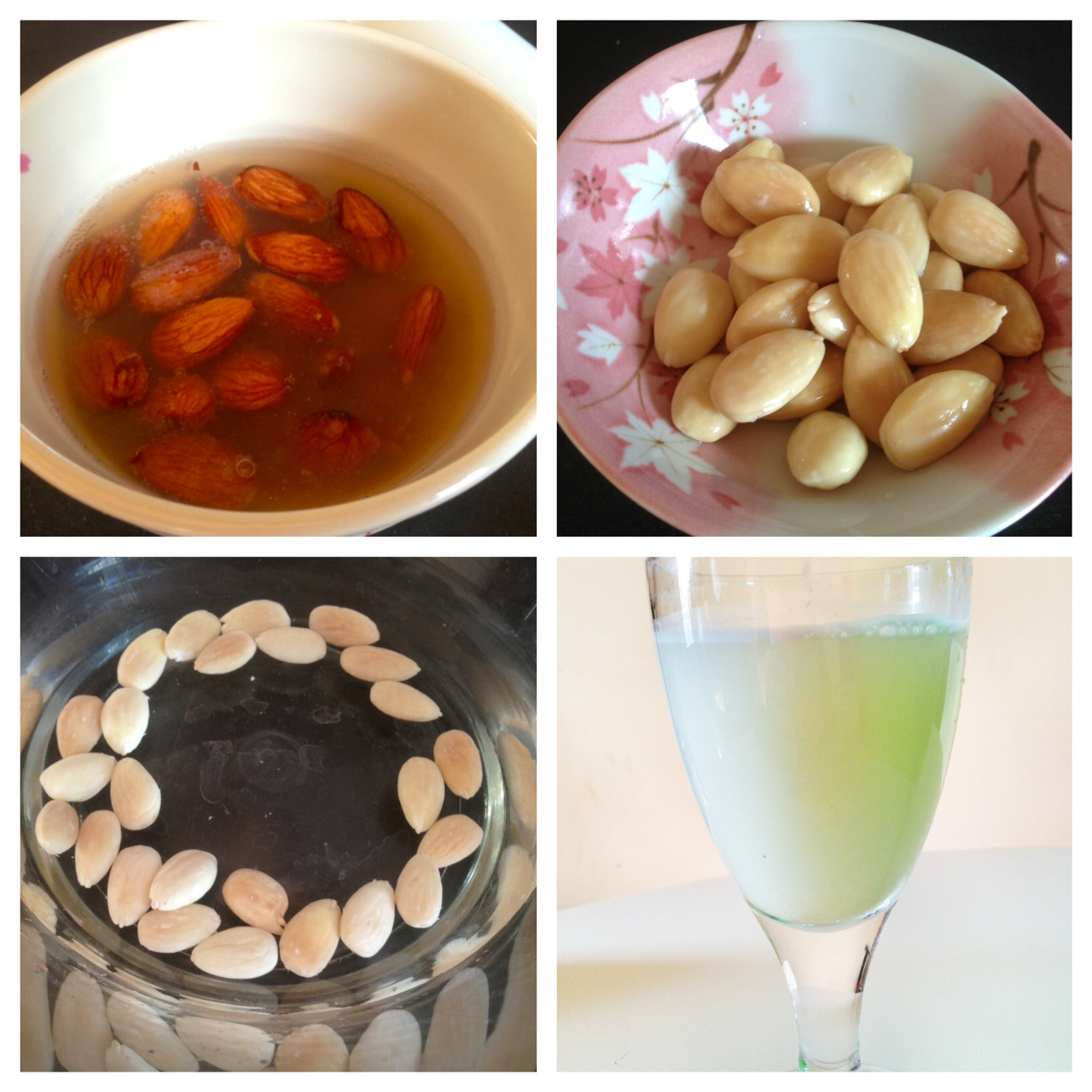 Easy way to make almond milk