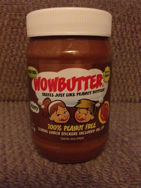 WOWBUTTER - no peanuts peanut butter review