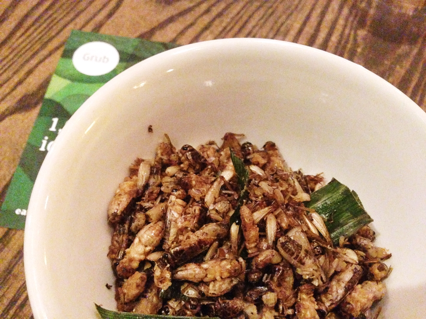 Eat Grub Review - soy crickets