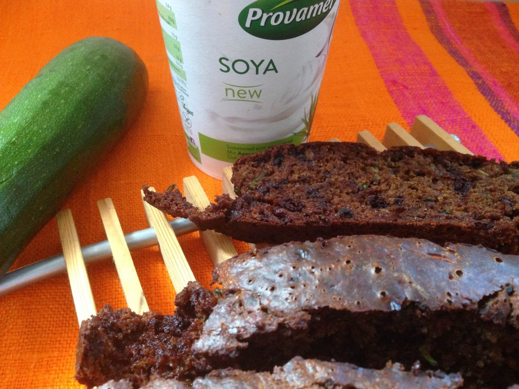Courgette Chocolate Chip Cake